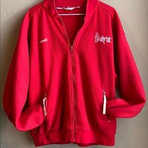 Columbia Huskers zip up sweatshirt jacket